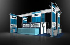 ATSA004 – 20×40 Trade Show Booth Rental