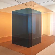 Pinkblue (made for Arolsen) by Larry Bell Cube Design, Secret Rooms, Light And Space, To Infinity And Beyond, Art Object, Minimalist Design, Installation Art, Modern Contemporary, Interior Architecture