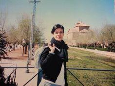 Yo en el rio Amarguillo ( lo que fue) Consuegra, Toledo,Espana