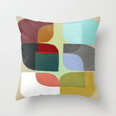 Color Overlay Throw Pillow by Steven Womack - $20.00