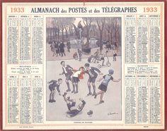 Almanach des Postes 1933