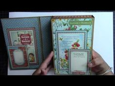 Home Sweet Home Altered Box and Album - YouTube