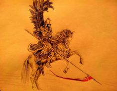 Hussar by SadDancer on DeviantArt Polish Tattoos, Badass Pictures, Fiction, Modern Warfare, Tattoos For Guys, Character Art, Drawings, Warriors, Artwork