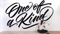 Amazing Lettering Artworks by Gemma O'Brien – Inspiration Grid | Design Inspiration #lettering #letteringinspiration #letteringdesign #letteringart #typography #type #typographyinspiration #inspirationgrid