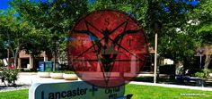 SATANIC TEMPLE OF LOS ANGELES PLANS TO COVER CITY OF LANCASTER IN A PENTAGRAM ON 6/6/16 -Drawing this symbol around your city represents a solemn promise from us, the Satanic Temple of Los Angeles.