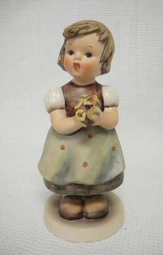 """Goebel Hummel Figurine 257 """"For Mother"""" 1963 TMK 4  (I have this one)"""