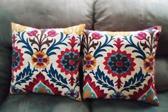 Chevron Pillow Covers Tribal Pillow Covers by JYCCreations