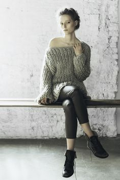 Knit Dreams from MitiMota : Foto, ribbed chunky knit sweater