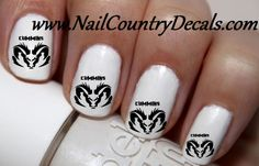 "#summer #deals #fashion #nails #sale #country #hot #coupon code ""PINTEREST"" 50pc Cummins Dodge Ram Logo Nail Decals Nail Art Nail Stickers Best Price NC982"