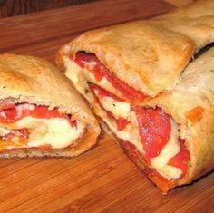 Now You Can Pin It!: Pepperoni Stromboli