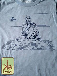 Sky Buddha 100% organic cotton tee from Krmbal
