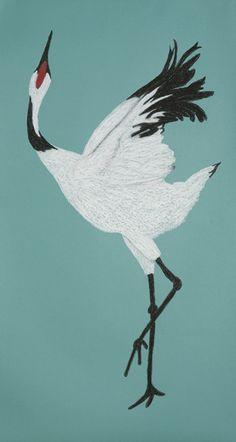 ©Deborah Foutch, Crane Dance