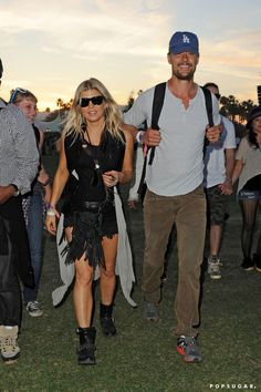Pin for Later: Coachella Is Basically a Celebrity Paradise  Fergie and Josh Duhamel popped up at the festival on the final day in 2012.