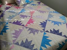 You have to see Delectable mountains quilt on Craftsy!