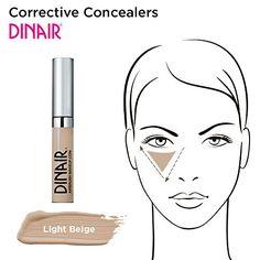Dinair Makeup  Corrective Concealer  Light Beige >>> For more information, visit image link.