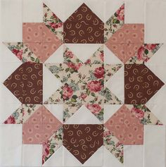 Third Swoon Block (Center) by {safieh}, LOVE THE COLOR LAY OUT ..