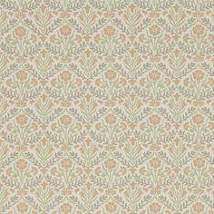 William Morris Morris Bellflowers Saffron/Olive