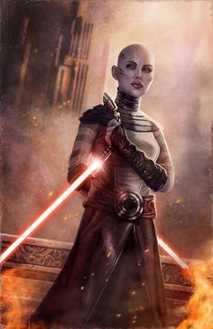 Asajj Ventress by `pinkhavok