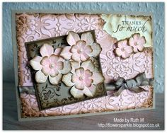 Vintage Thanks So Much card by FubsyRuth - Cards and Paper Crafts at Splitcoaststampers