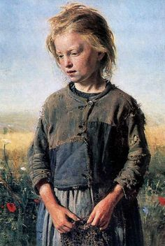 Ilya Repin - Fisher Girl, 1874
