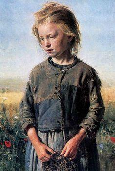 Ilya Repin, Fisher Girl, 1874