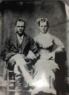 (Henry) and his first wife Cinda Shepard Early Settler, Jr, Character, Lettering