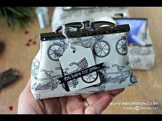 From a stamp to clutch purses | Video Post         |          Bibi Cameron Paper Craft  Designer
