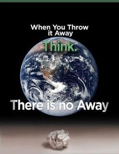 1 day. 2 weeks. 3 months. 4 years. 5 decades. No large trash compartment drawer that mysteriously opens, swallows the garbage in and shuts? No voila, clean planet?