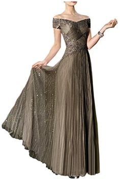 Vienna Bride Glamorous Off-the-Shoulder Drapped Evening Mother of th Bride Dress Mother Of Bride Outfits, Mother Of Groom Dresses, Mothers Dresses, Lace Evening Dresses, Evening Gowns, Nice Dresses, Prom Dresses, Dress Prom, Jumpsuit Formal Wedding