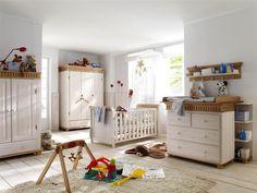 Babyzimmer Kiefer massiv Landhausstil Helsinki verschiedene Farben - 222-914 bei AMD