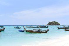 A 2 week Thailand island hopping guide Thailand Island Hopping, Happy Hour Specials, Thai Islands, Beach Weather, The Longest Journey, Walking Street, Beach Bungalows, Destin Beach, Most Beautiful Beaches