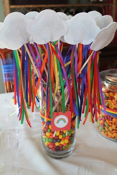 Rainbow wands!!!