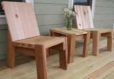 Furniture Made of 2x4s