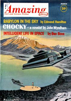 Lloyd Birmingham, Amazing Stories 63-03, Babylon in the Sky by Edmond Hamilton.