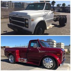 There's nothing better than the preservation of American classic trucks! Dually Trucks, Chevy Pickup Trucks, Classic Chevy Trucks, Big Rig Trucks, Gm Trucks, Chevy Pickups, Chevrolet Trucks, Cool Trucks, Chevy C10
