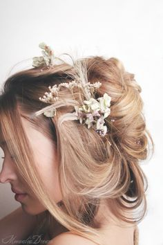 FairynesS Real Flower Hair Pins