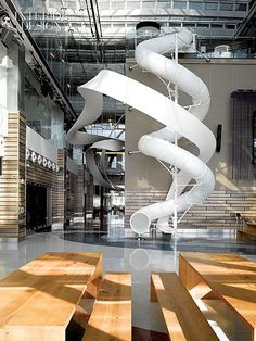 The Small Screen Goes Big: Corus Entertainment Toronto Headquarters by Quadrangle Architects Interior Design