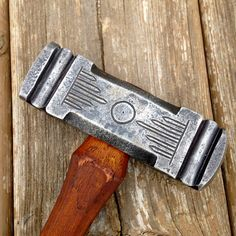 3 pound decorated rounding hammer