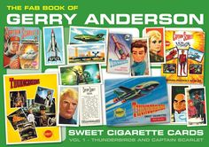 FAB Book of Gerry Anderson Cigarette Cards
