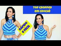 Top Cropped Filha - Frente Única de Crochê - YouTube