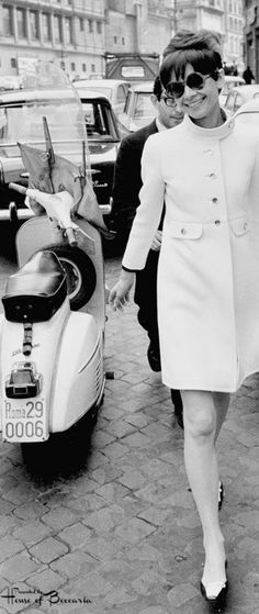 ~Audrey Hepburn in 1968, Rome, Italy  | House of Beccaria#