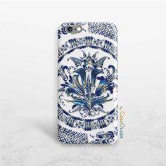 Mandala phone case, iPhone 7 7 Plus 6 6s 6 Plus iPhone 5 5s SE phone case, Samsung Galaxy S7 Edge S6 S5 S4 S3 mini blue mandala phone case by CaseOcean on Etsy