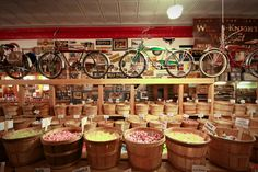 Red Lodge, MT, Candy shop. There is another one like it in Dillon, MT.