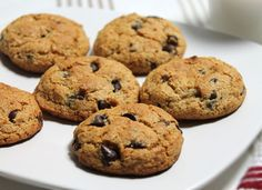 Krystal's Favorite G-F Chocolate Chip Cookie | from Wholetarian