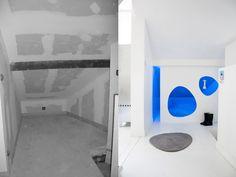 combles aménagés Home And Deco, Home Organization, Future House, Organize, Bathtub, Space, House, Standing Bath, Floor Space