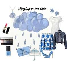 Singing in the rain! by raimbow-colors on Polyvore featuring moda, Alice & You, maurices, Alice + Olivia, Casadei, Dolce&Gabbana, R.J. Graziano, Ice, Vera Bradley and NARS Cosmetics