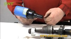 How to remove CV joint quickly?