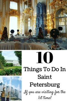 what to do in saint petersburg