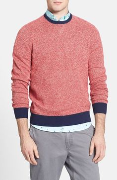 Love it! 1901 Merino Wool and Cashmere Crewneck Sweater available at #Nordstrom