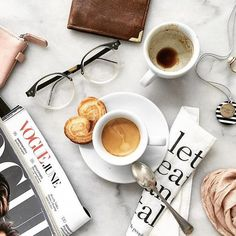 Good morning! Feeling inspired and ready for the day to get as much packed in before family visitors arrive for the weekend! @becoffeestyle Summer vibes espresso and good stuff Espresso jak słońce. Witajcie w instagramowym czwartku! #flatlays#marble#table#palmiers#cookies#kawa#fika#coffeetime#coffeebreak#espresso#cappuccino#vscocoffee#coffeenclothes#voguemagazine#coffee_inst#glasses#tijn#okulary#simplepleasures#tv_living#coffeeholic